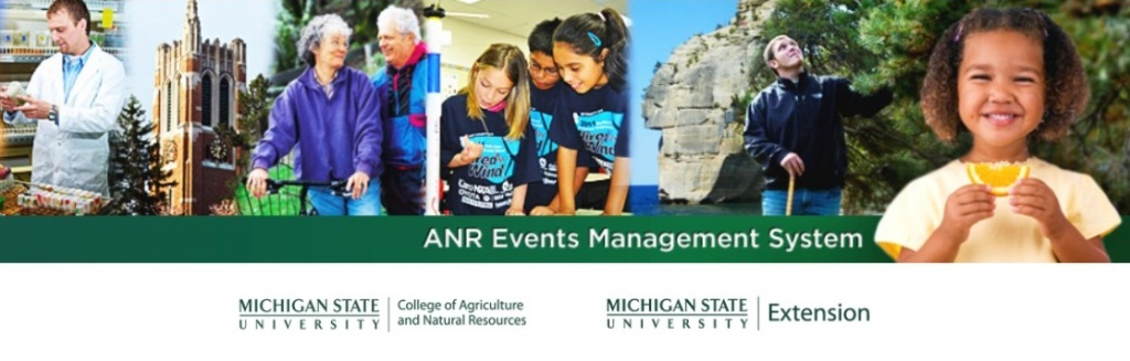 Registration link to MSU Events System