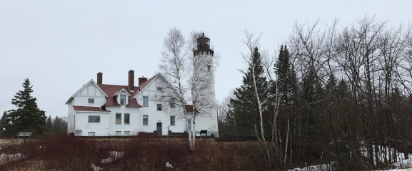 The Point Iroquois Lighthouse is one of the planned stops on the Tribal Natural Resource Management field trip.